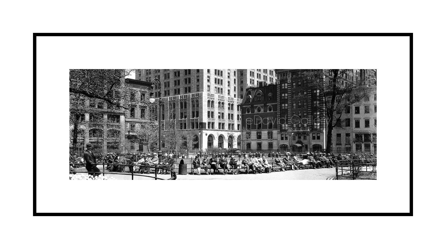 Madison Square Park, Park Bench