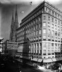 Saks Fifth Avenue and St. Patricks Cathedral 1920