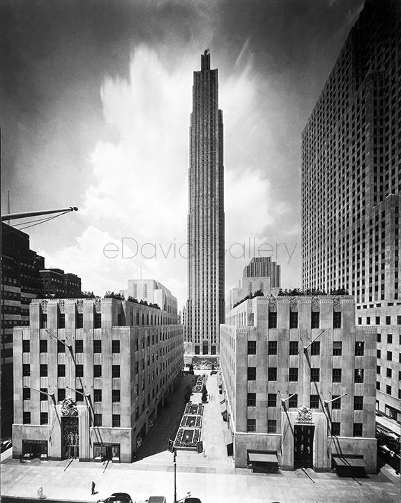 30 Rockefeller Center in 1934