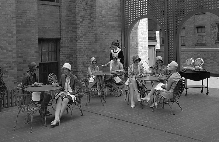 Tea Time at the Panhellenic House 1927