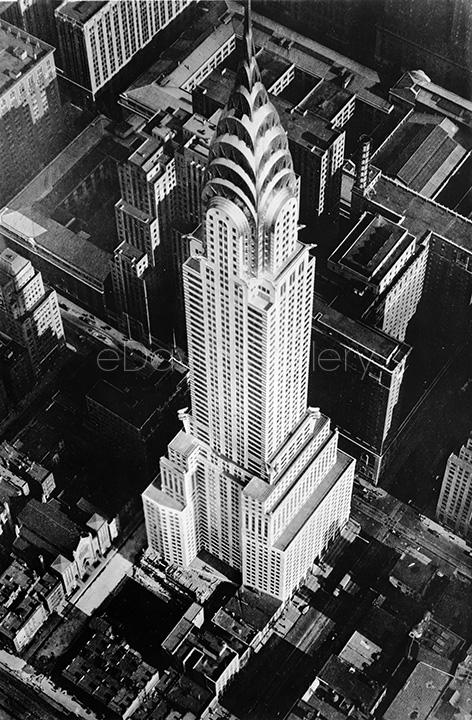 Aerial View of Completed Chrysler Building