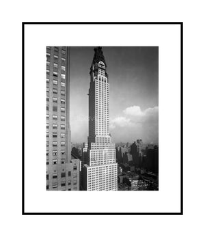 The Chrysler Building on Black Wednesday 10/23/1929