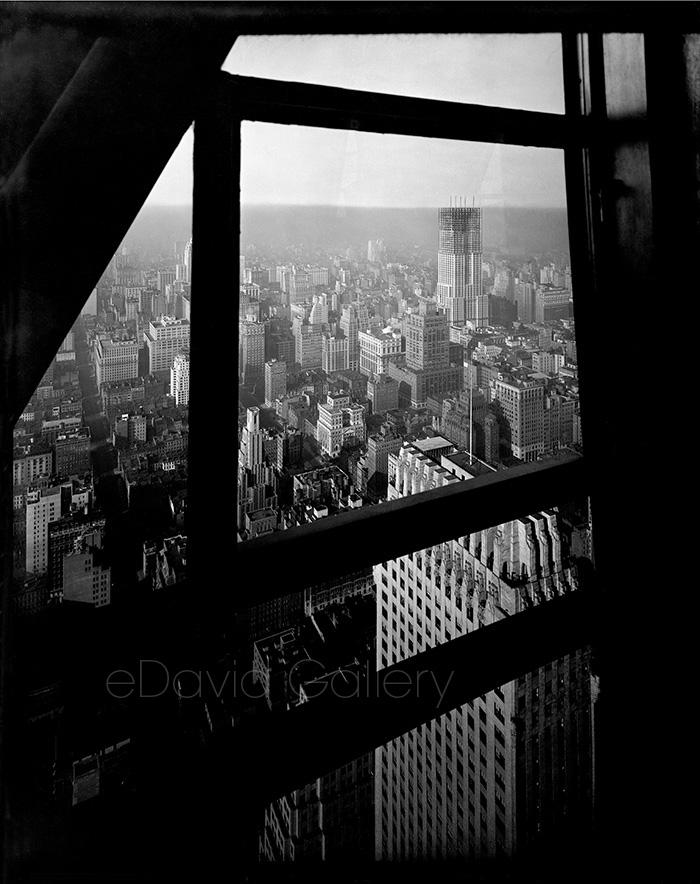 Empire State Building Seen from Chrysler Building
