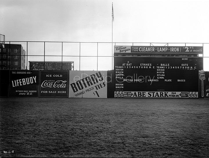 Ebbets Field in 1940
