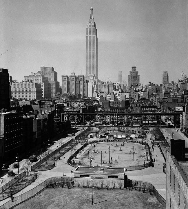 View Facing West from 36th Street, 1931