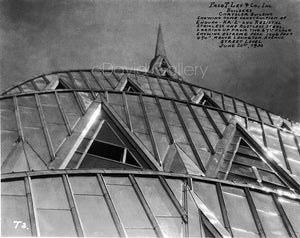 Chrysler Building Dome Construction, View 1