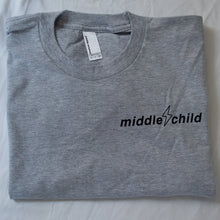 Middle Child Logo Tee Grey