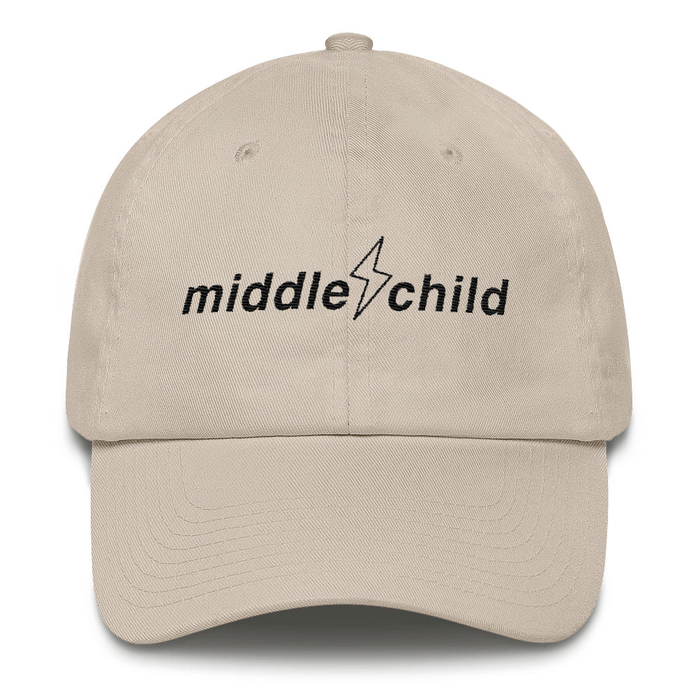 Middle Child Logo Dad Hat Stone