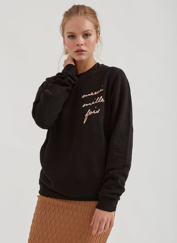 Merci Sweatshirt