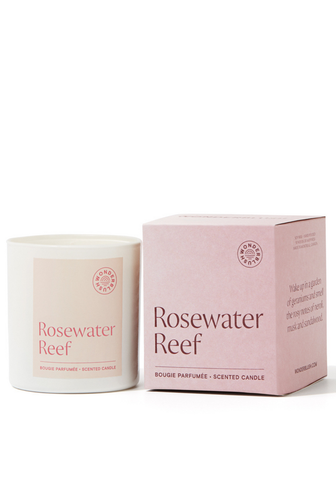 Rosewater Reef Candle