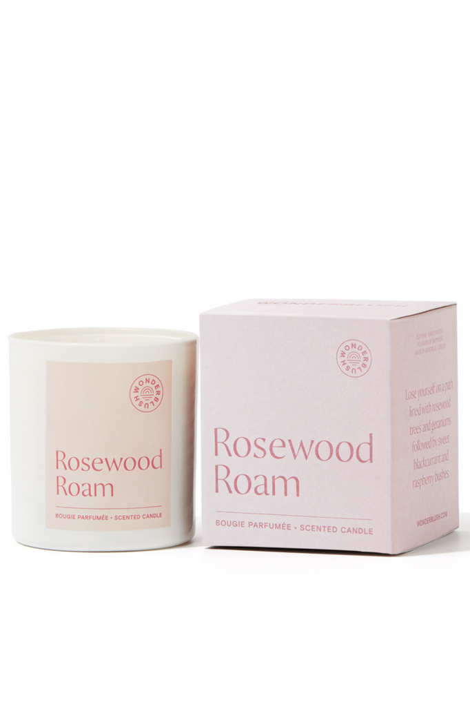 Rosewood Roam Candle