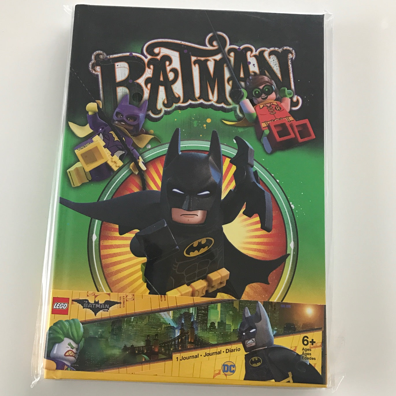 Lego Batman Movie Journal