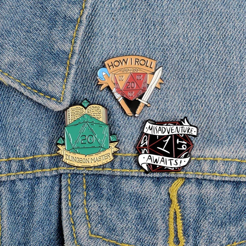 Dungeons & Dragons Pins