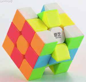3x3 QiYi Warrior cube - stickerless