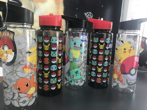 Pikachu Titan Drink Bottle - 2 to choose from