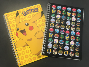Pokemon Notebook - 2 to choose from
