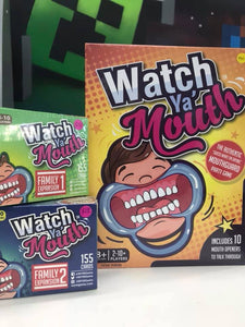 Watch Ya Mouth Game + Expansions + Accessories
