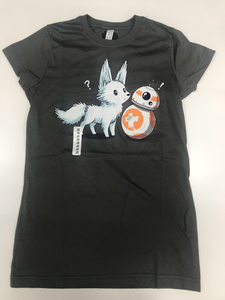 Star Wars BB8 Crystal Fox tshirt kids size S
