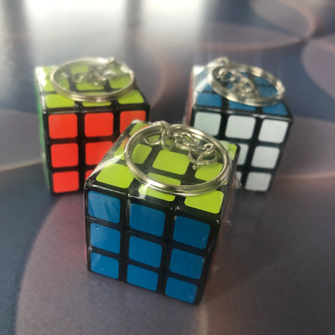 Mini speed cube keyrings