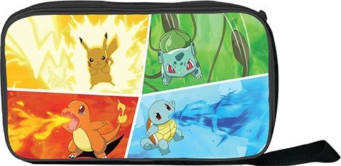 Pokemon Zip Up Lunch Cooler Bags