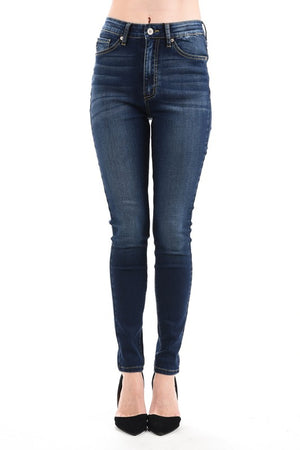 Plus Size High Waist Jean