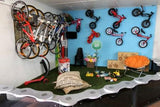 Kids play area at Revolution Bikes