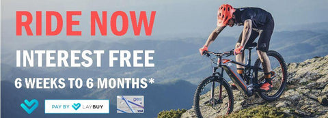 Interest free finance for bikes in New Zealand