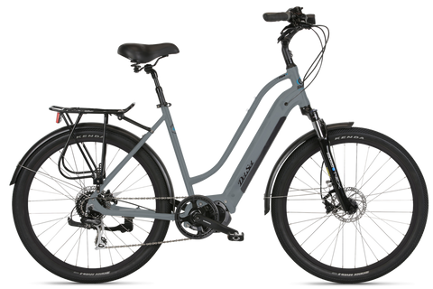 Del Sol Lxi ebike in grey with Shimano mid drive motor