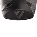 7iDP M1 Full Face DH BMX Helmet has rear foam lightweight protection and 17 air vents