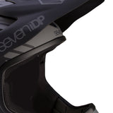 7iDP M1 Full Face DH BMX Helmet has  alarge face opening for goggles