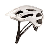 7iDP M4 white e-bike helmet with adjustable visor peak ideal as female bike helmet