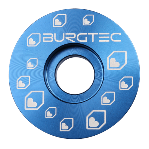 Burgtec Top Caps Deep Blue