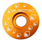 Burgtec Top Caps Iron Bro Orange