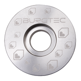 Burgtec Top Caps Rhodium Silver