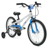 BYK E350 Kids Bike in Bright Blue ideal for children learning to ride between ages 4 - 6 years.