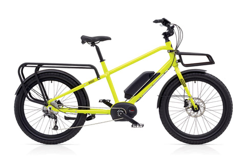 Benno Boost E 10D 2018 electric cargo utility ebike with Bosch Performance Line Centre Mount Motor