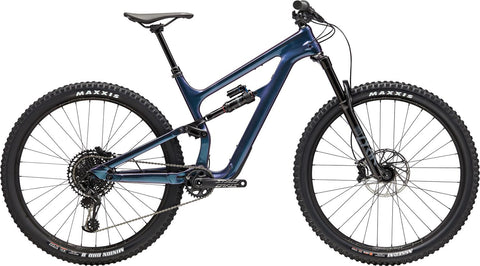 2020 cannondale Habit carbon SE mountain bike in kingfisher blue