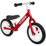 Cruzee Balance or runner Bike in Bright Red for kids learning to ride