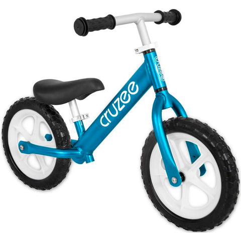 Cruzee Balance bike in blue for kids aged 2 - 4 years