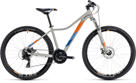 Cube Access Women's 27.5 hardtail mountain bike with front suspension forks under $1000