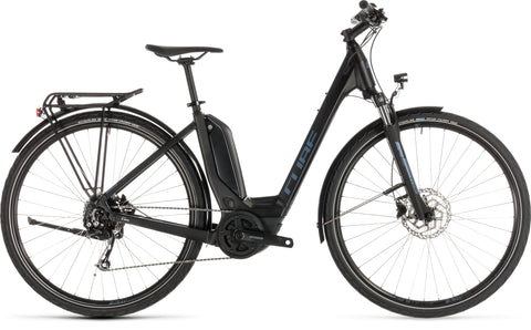 Cube Touring Hybrid One 500 2019 easy entry low step through electric bike with 32kph Bosch motor
