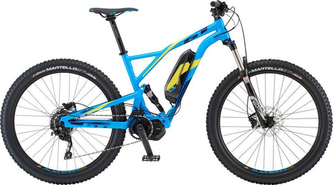 GT eVerb Current electric mountain bike full suspension and Shimano STEPS