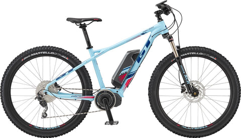 GT ePantera Dash GTW ladies electric mountain bike with Shimano STEPS 6000 electric drive system, ideal for off road mountain biking