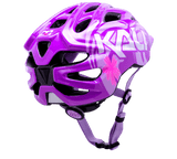 Tropical Purple Girls bike helmet from Kali Protectives