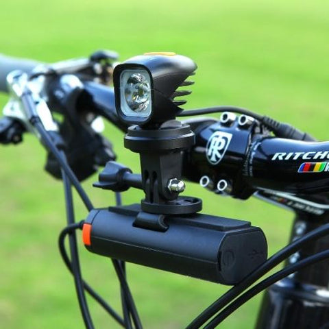 TTA Out-Front Bike Mount Loaded