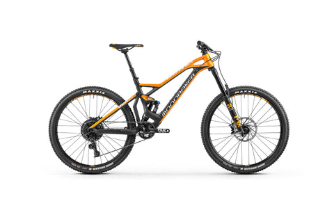 Mondraker Dune Carbon R 2018 super enduro MTB yellow