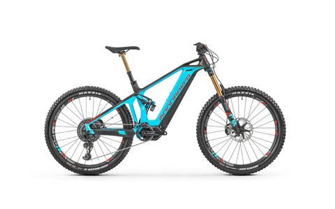 Mondraker Crusher Carbon XR+ electric all mountain bike with 27´5+ Sealth Full Carbon Structure, Zero Suspension System, 150mm travel