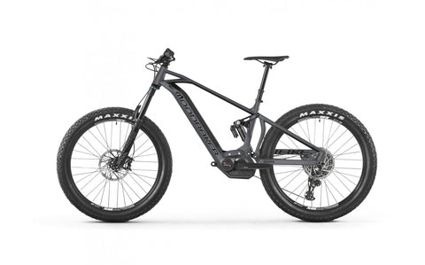 2018 Mondraker e-crafty R+ electric All Mountain style ebike with Bosch CX Performance system, Intube PowerTube 500Wh Bosch battery and new Purion computer