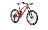 Full sus Mondraker Foxy Carbon RR 2018 enduro All Mountain MTB Bike in red with 27.5 tires