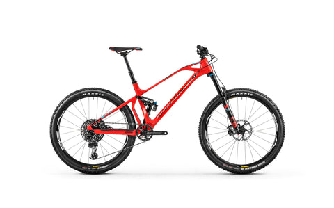 Mondraker Foxy Carbon RR 2018 enduro All Mountain MTB Bike in red with 27.5 tires